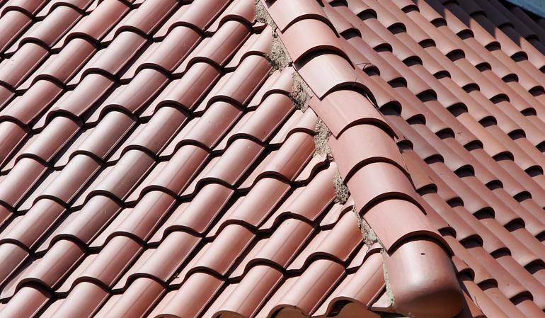 Ceramic Tile Roofing Repair Installation